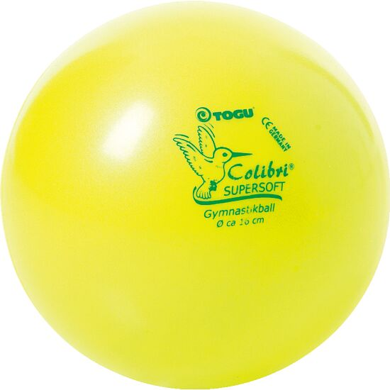 Togu® Colibri Supersoft Gymnastikball Gelb