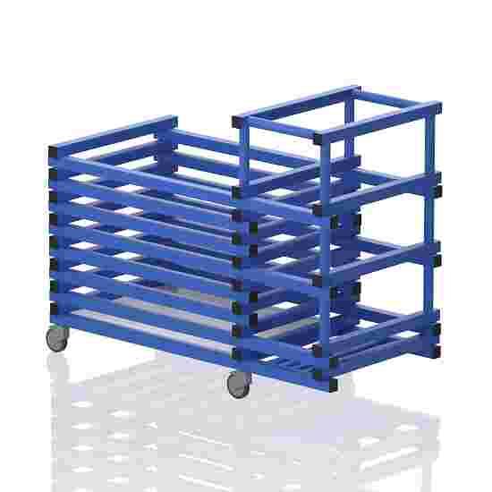 "Transportwagen aus Kunststoff ""Kombi"" Blau"