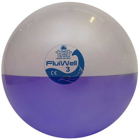 "Trial Medizinball  ""Fluiwell"" 3 kg, ø 22,5 cm"