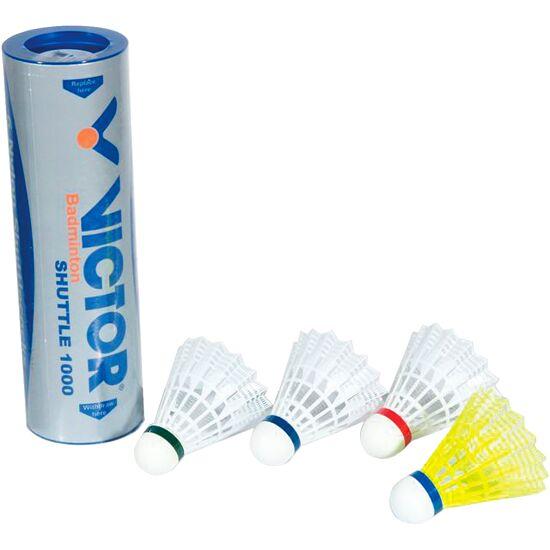 """Victor® Badmintonbälle """"Shuttle 1000"""" Rot, schnell, Weiß"""