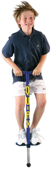 Qu-Ax® Pogo-Stick Blau, L: 98 cm, bis 50 kg