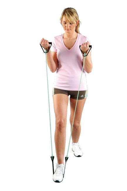 Sport-Thieme® Fitness-Tube Step Grün = leicht