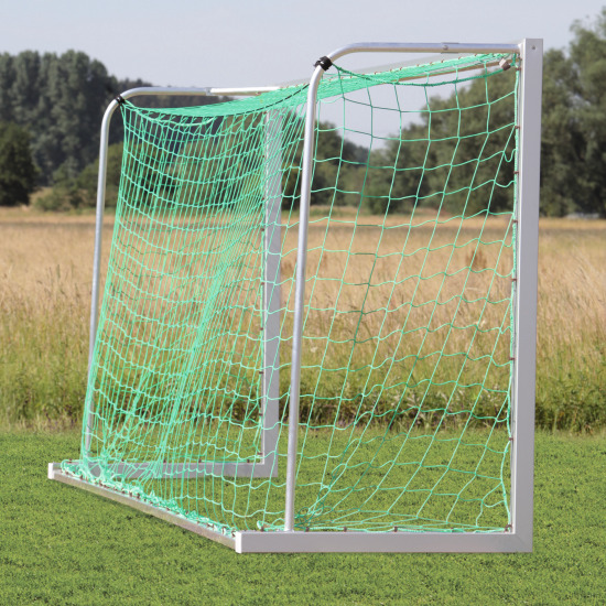 Sport-Thieme® Jugendfußballtor 5x2 m, Quadratprofil, transportabel Verschraubte Eckverbindungen