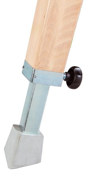 Sport-Thieme® Sprungpferd Mit Holzbeinen