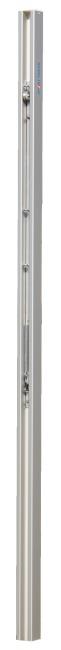 Sport-Thieme® Volleyballpfosten 80x80 mm DVV 1 Mit Spindelspannvorrichtung