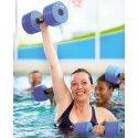"""Sport-Thieme Aqua-Jogging-Hanteln """"Sportime"""" Junior L: ca. 28 cm, ø 9 cm"""