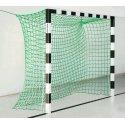Sport-Thieme® Hallenhandballtor 3x2 m, ohne Netzbügel Schwarz-Silber