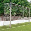 Sport-Thieme® Jugendfußballtor 5x2 m, Ovalprofil, in Bodenhülsen stehend