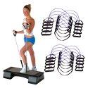 Sport-Thieme Fitness-Step-Tube 10er Sets Violett, stark