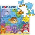Aqua Game Puzzle Meeresbewohner, Quadratisch