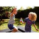 """Eurotramp Kids-Bodentrampolin """"Playground"""" Sprungtuch eckig"""