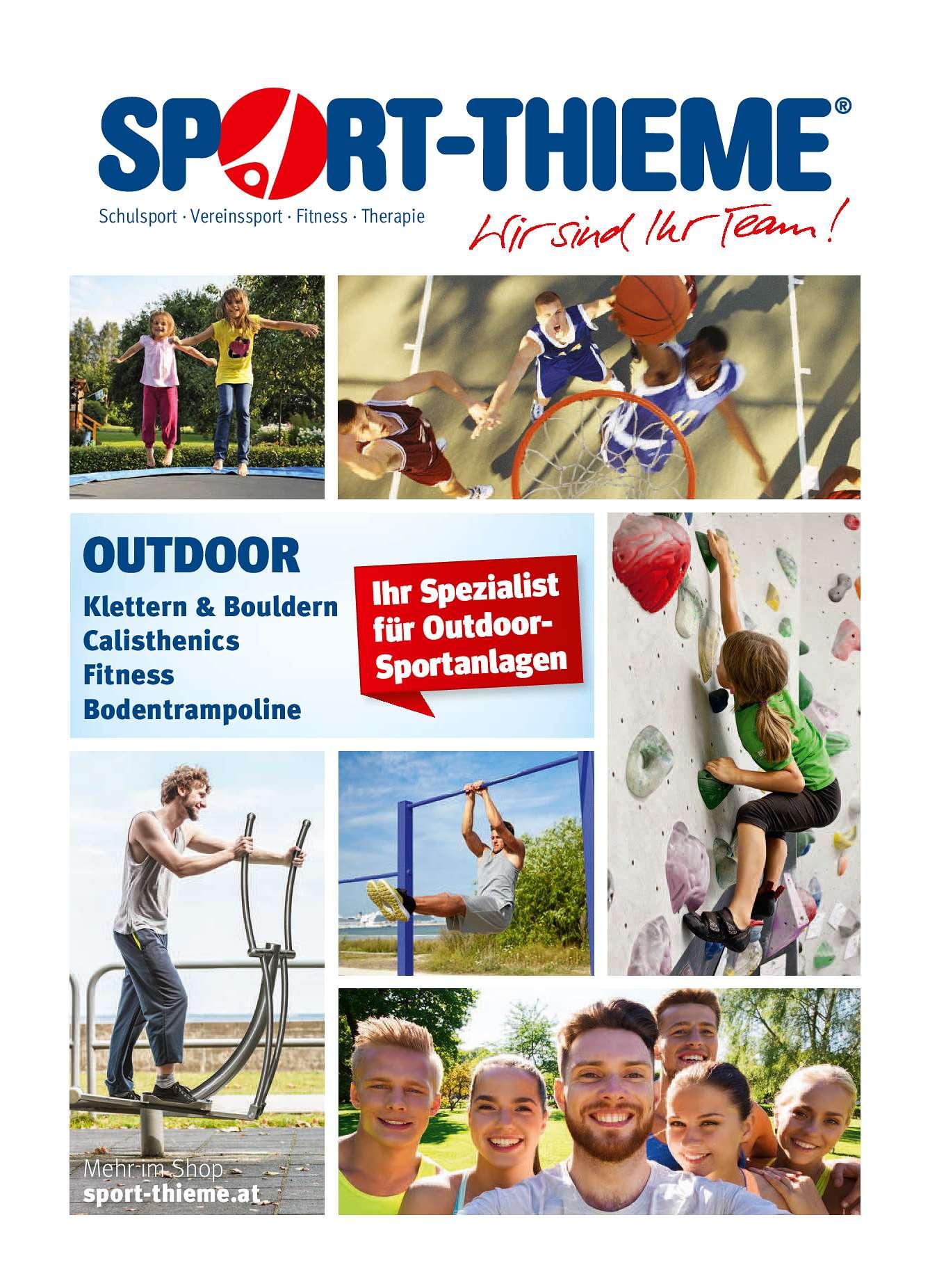 Outdoor-Broschüre
