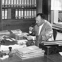 Der Firmengründer Karl-Heinz Thieme in den 60er Jahren