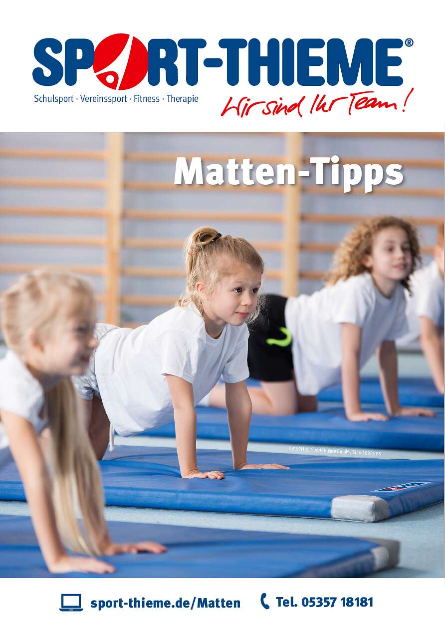 Matten Tipps von Sport-Thieme