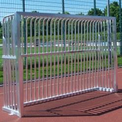 Sport-Thieme® Vollverschweißtes Bolzplatztor  Quadratprofil 80x80 mm, 300x200x60 cm