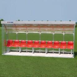Sport-Thieme® Spielerkabine für 10 Personen