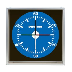 "Sport-Thieme ® Trainingsuhr ""Prima Super"" 90x90 cm, Wandmodell"