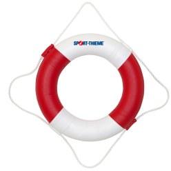 Rettungsring 22 kp Tragfähigkeit, Rot-Weiß