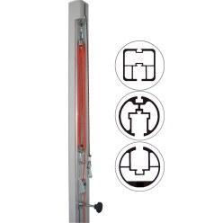 Ersatzspannvorrichtung Flaschenzug für Pfosten 80x80 mm, ø 83 mm oder ø 105 mm