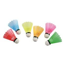 Victor Badmintonbälle mit farbigem Korb