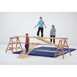 Sport-Thieme® Holzuntersetzböcke für Lüneburger Stegel