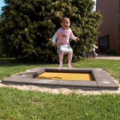 "Eurotramp® Kids-Bodentrampolin ""Kindergarten Mini"""