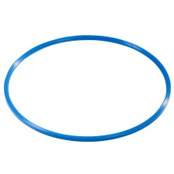 "Sport-Thieme Gymnastikreifen ""Kunststoff"" Blau, ø 80 cm"
