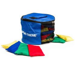 Set Sport-Thieme® Bohnensäckchen mit Tasche Waschbar mit Kunststoffgranulat