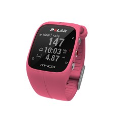"Polar® Herzfrequenzmesser ""M400 HR"" (inkl. H7 Bluetooth Brustgurt) Pink"