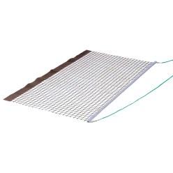 Tennis-Schleppnetz Alu PVC einfach