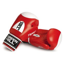 "Green Hill® Boxhandschuhe ""Tiger"" 10 oz., Rot"