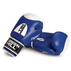 "Green Hill Boxhandschuhe ""Tiger"" 10 oz., Blau"