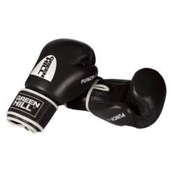 """Green Hill® Boxhandschuhe """"Punch II"""" 12 oz., Schwarz"""