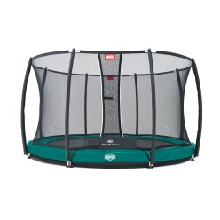"Berg® Bodentrampolin ""Elite+ InGround"" mit Sicherheitsnetz"