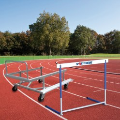 Sport-Thieme® Trainingshürden- und Transportwagen Set