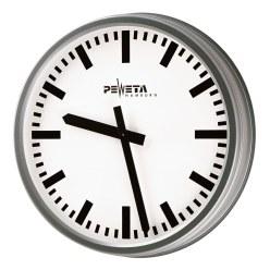 Peweta® Wetterfeste Außenuhr Standard, Zifferblatt arabische Zahlen