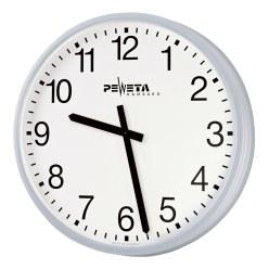 Peweta® Großraum-Wanduhr ø 52 cm, Batteriebetrieb