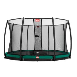 "BERG® Trampolin InGround ""Champion"" mit Sicherheitsnetz Deluxe"
