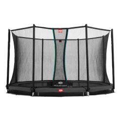 "Berg Trampolin InGround ""Favorit"" mit Sicherheitsnetz Comfort"