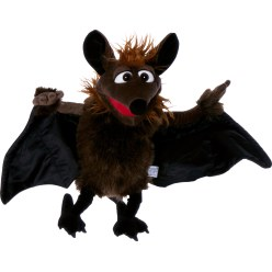 "Living Puppets® Handpuppe ""Gaston die Fledermaus"""