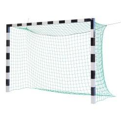 Sport-Thieme® Hallenhandballtor 3x2 m, in Bodenhülsen stehend