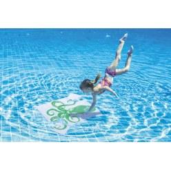 Sport-Thieme Unterwasser-Wendepuzzle Groß, Krake und Fisch