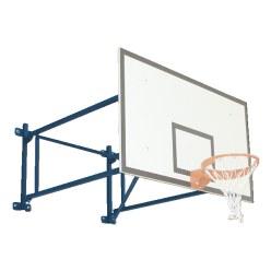 Sport-Thieme® Basketball-Wandgerüst schwenkbar