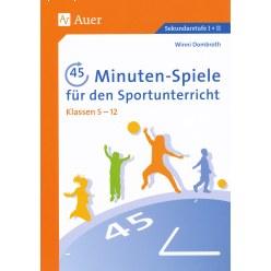 """Buch """"45-Minuten-Spiele für den Sportunterricht"""""""