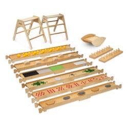 Erzi Großes Balance-Spazierweg Set