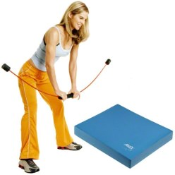 Flexi-Bar Sport & Airex® Balance Pad Set