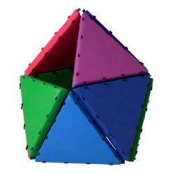 Tukluk® Mattenbausatz Große Dreiecke, L: 100 cm, Pro-Version