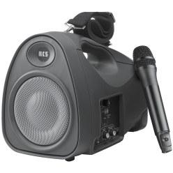 Wireless Power-Phone - inkl. Handmikrofon