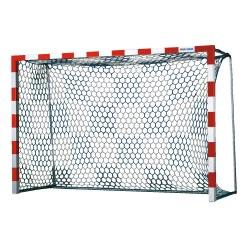 Handballtornetze mit Schachbrettmuster