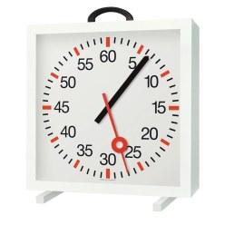 Trainingsuhr mit Minuten- und Sekundenanzeige